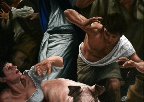 La cacciata dei mercanti dal tempio