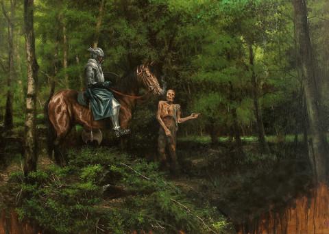 Crocevia nel bosco