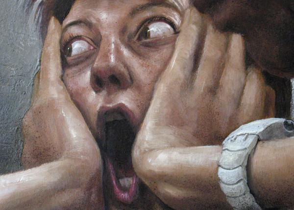 L'urlo - dettaglio