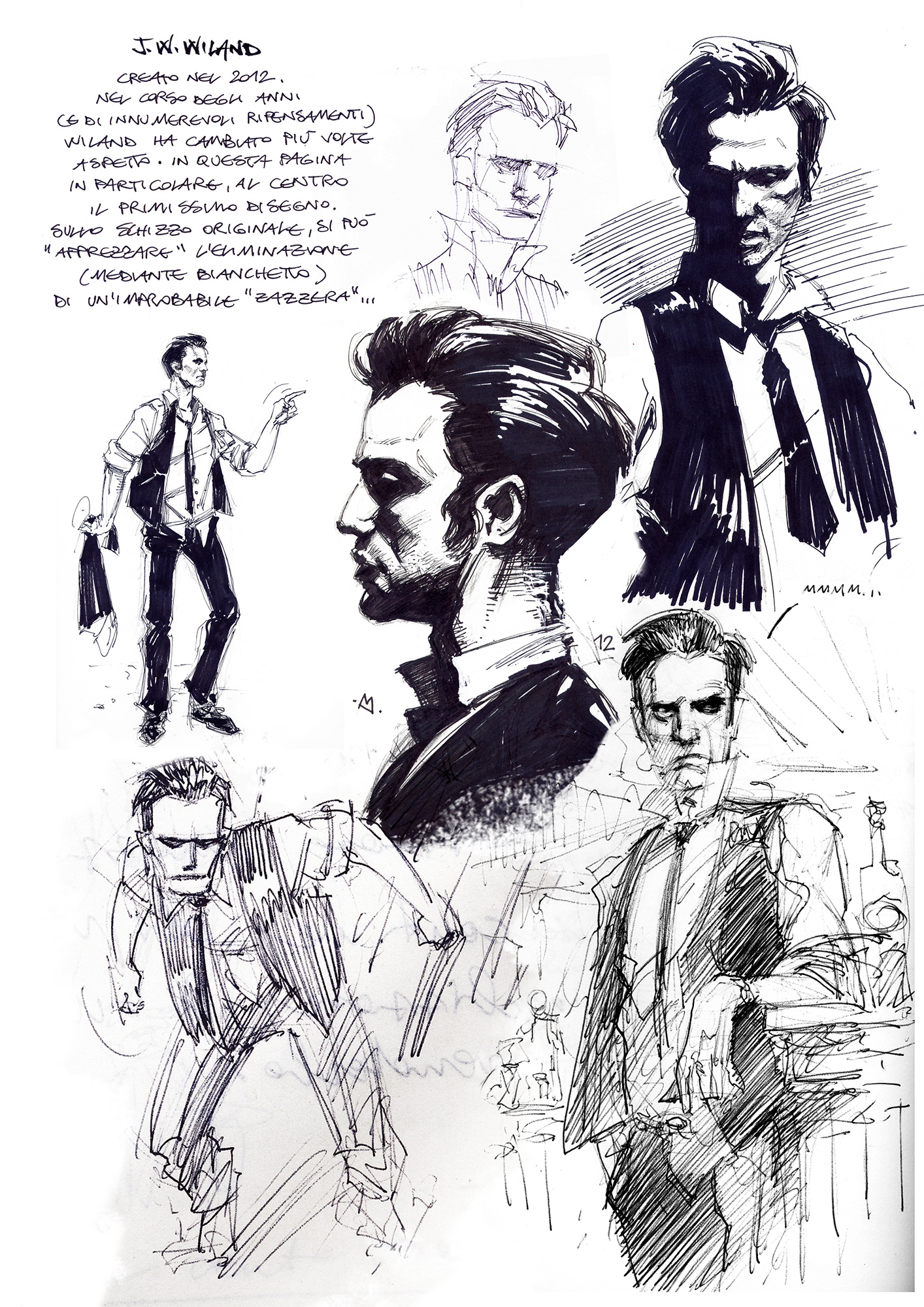 Sketchbook di J.W.Wiland vol. I